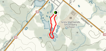 Flesherton Hills Trail Map
