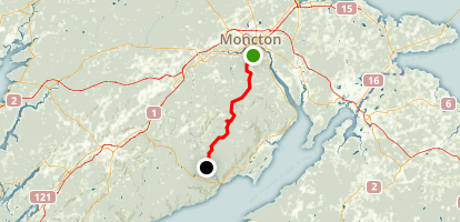 Dobson Trail Map