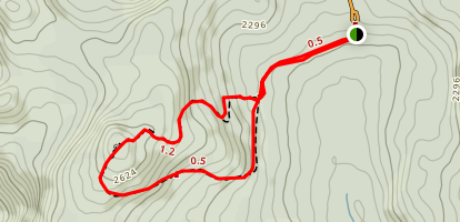 Mount Ernest- Laforce Trail Map