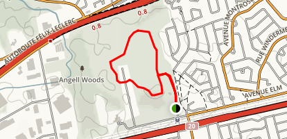 Teepee and Green Loop Trail Map
