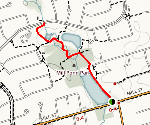 Mill Pond Park Trail  Map
