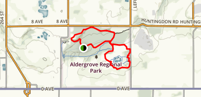 Pepin Brook Trail and Rock'N Horse Trail Map