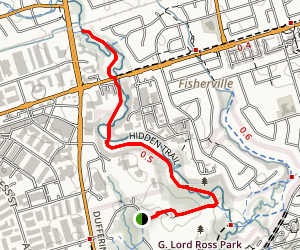 G. Ross Lord Park Trail Map