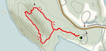Canadian Mt. Everest Expedition Trail Map