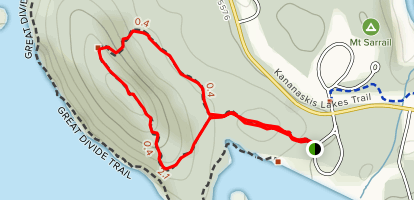 Canadian Mount Everest Expedition Trail Map
