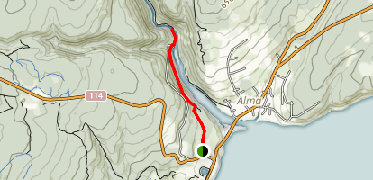 Upper Salmon River Trail  Map