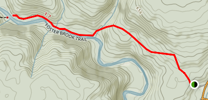 Foster Brook Trail  Map