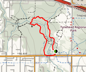Serpentine Loop Trail Map