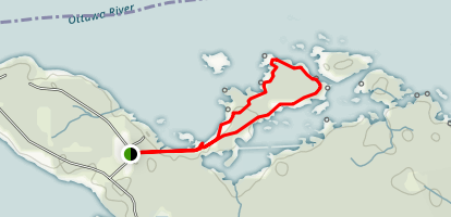 Morris Island Conservation Area Loop Trail Map