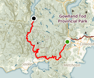 Sooke Flowline Trail Map