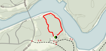Upper Loop Trail Map