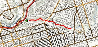 Taylor Creek Trail Map