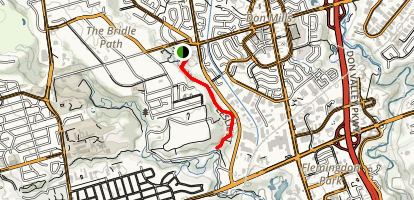 Wilket Creek Trail Map