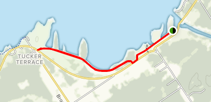 Richards Landing Dike Trail Map