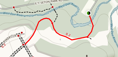 Serena Gundy Park Trail Map