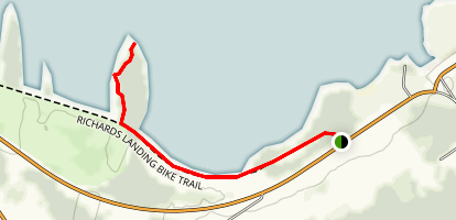 Lower Peninsula Trail Map