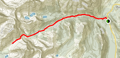 Lost Lake Route Map