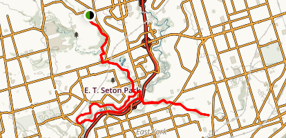 Don Valley MTB trails Map