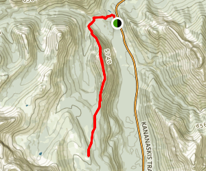 Spoon Needle Route Map