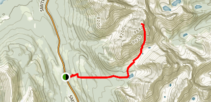 The Tower Route Map