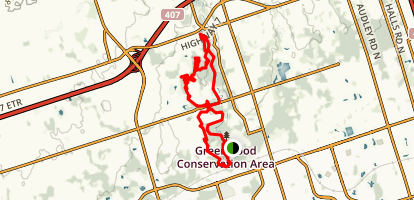 Greenwood Conservation Area Trail Map