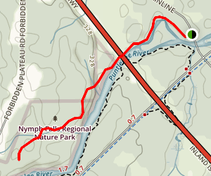 Cog the Log Trail Map