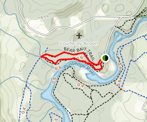 Bear's Bait Trail Map
