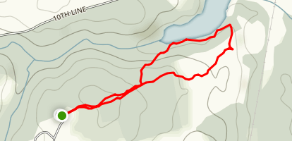 Scanlon Creek Loop Trail Map