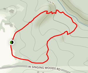 Forest Loop Trail Map