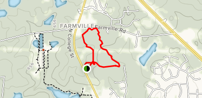 Louise Kreher Forest Trail Map