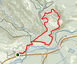 Elbow Trail to Snagmore Loop Map