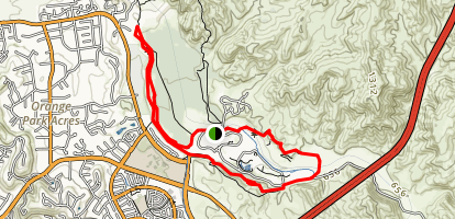 Horseshoe Loop Map
