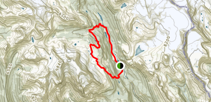 Celeste Lake via Iceline Trail Map
