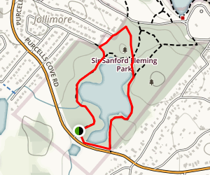 Frog Pond Nature Trail Map