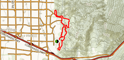 South Foothills Loop Map