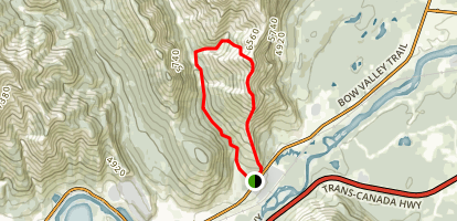 Door Jamb and Loder Peak Tail  Map