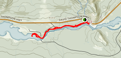 Alexander Henry's Trail Map