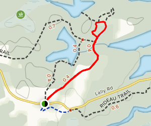 Silver Queen Mine Trail Map