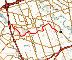 West Humber River Recreational Trail Map