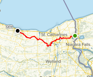 Bruce Trail: Niagara Section Map