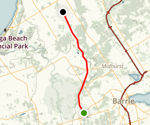 North Simcoe Rail Trail Map