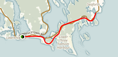 Atlantic View Trail Map