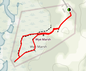Wye Marsh Wildlife Centre Trails Map