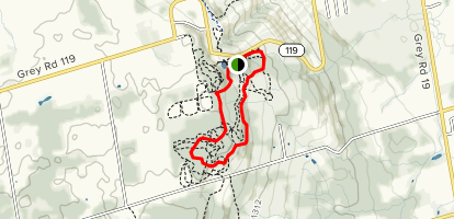 Scenic Caves Trail Map