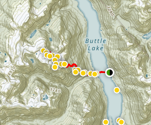 Marble Mountain Map