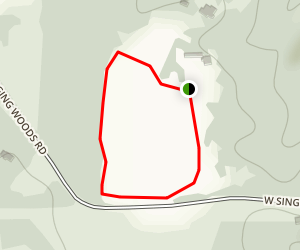 Tawny Oaks Botanical Loop Map