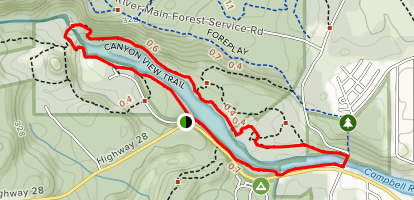 Canyon View Trail Map
