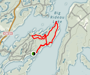 Murphy's Point Loop Trail Map