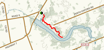 Wildwood Trail - Short Version Map