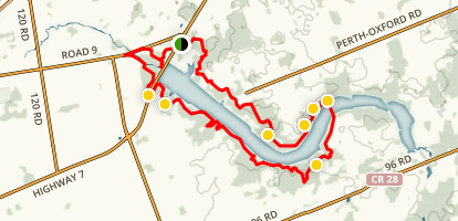 Wildwood Lake Trail Map